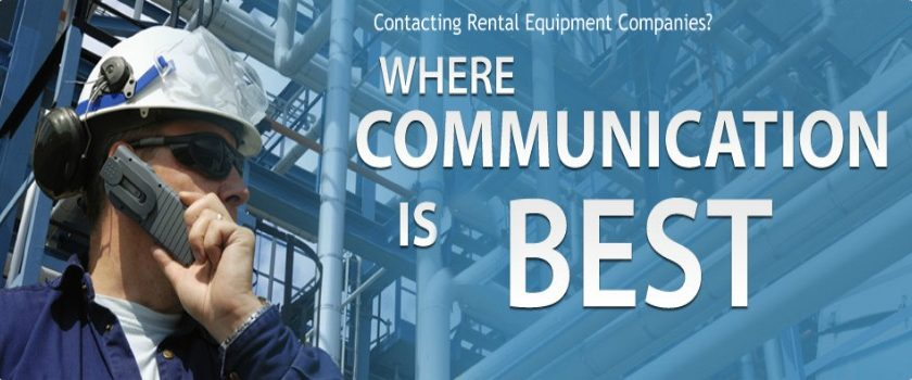 Top Advantages of Contacting Rental Equipment Companies